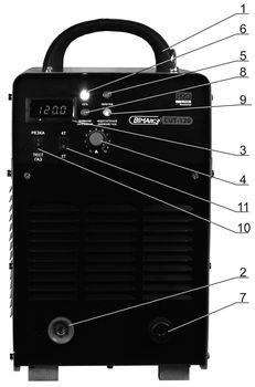 Лицевая панель установки CUT-120 BIMArc PRO Line.jpg