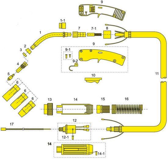 Устройство и принцип работы горелки MF-450